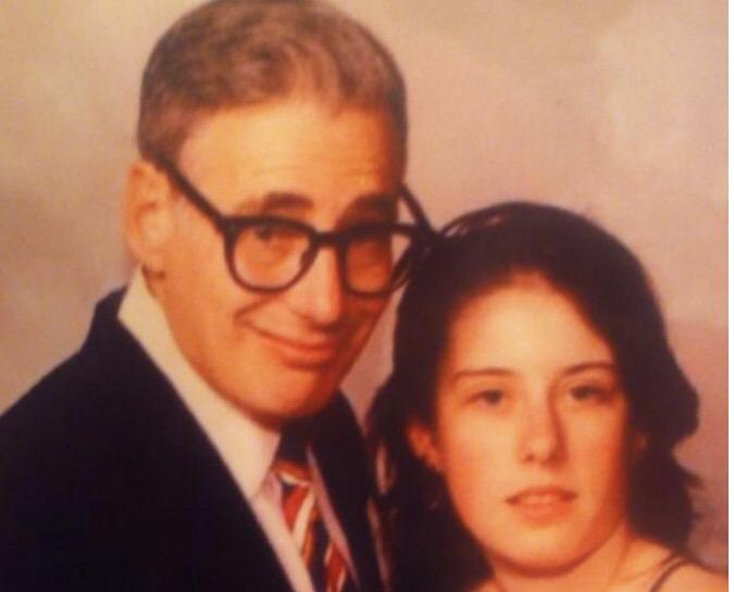 Throw Back Thursday (TBT) Dad and I –1990