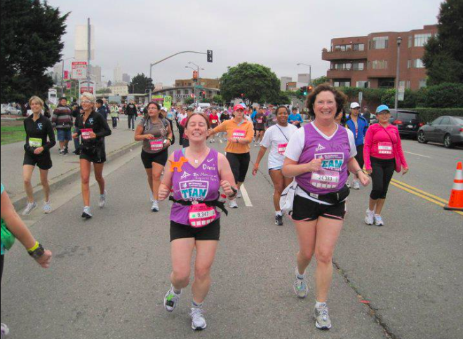 Nike Women's Half Marathon 2010 – Throw Back Thursday (TBT)