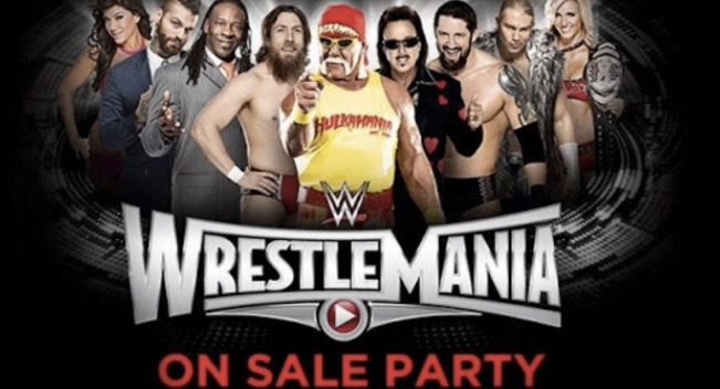 I'm WrestleMania 31 On Sale Party and RAW – Throw Back Thursday