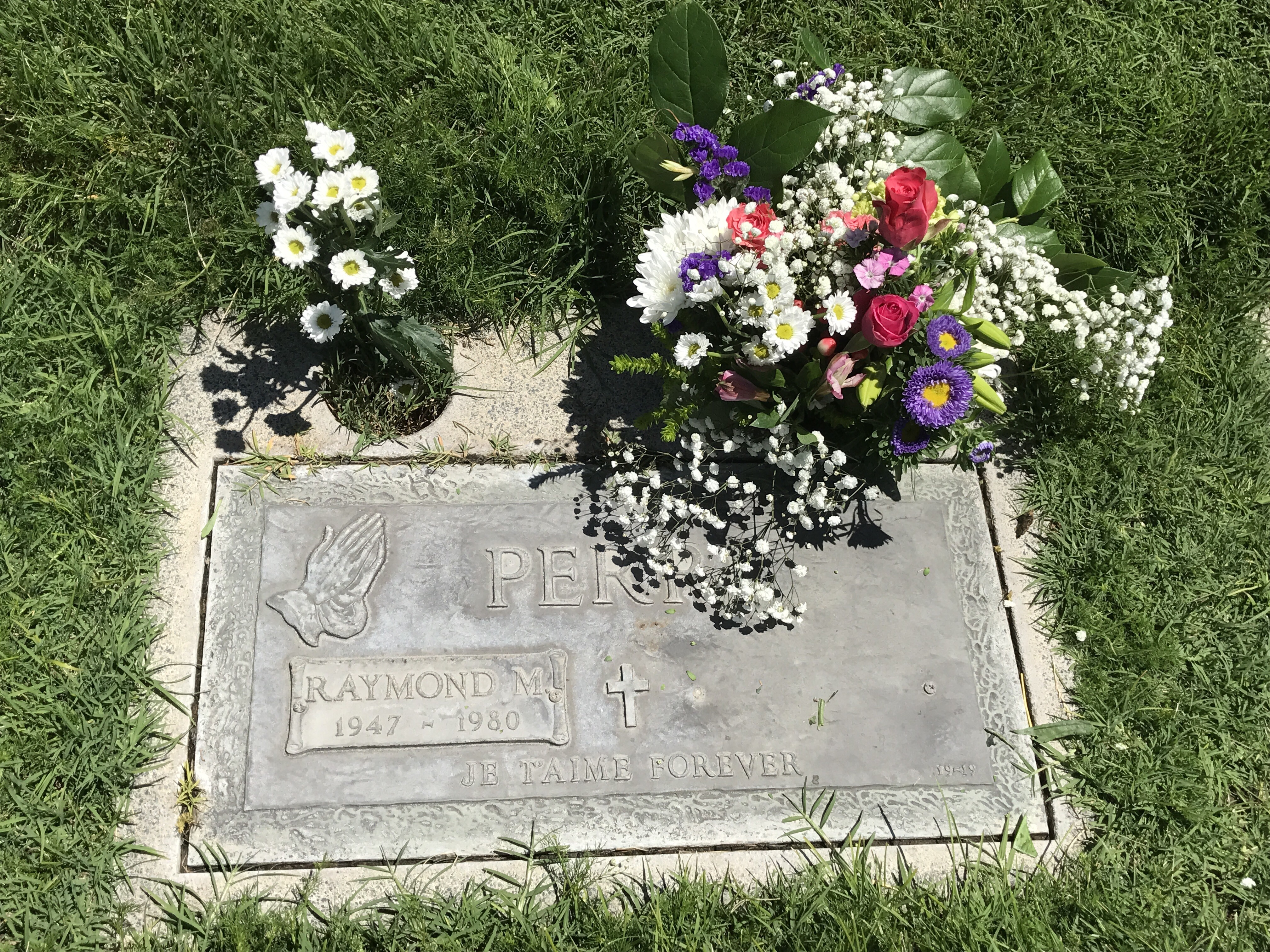 Happy birthday candy over 40 first time mom candy shares her june 3rd birthday with her late husband raymond so we went to the cemetery to put flowers on his grave for what would have been his 70th izmirmasajfo